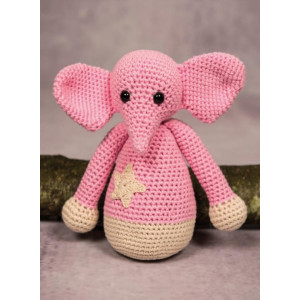 Mayflower Little Bits Ella the Elephant - Crochet Teddy Pattern