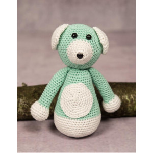 Mayflower Little Bits Buller the Teddy Bear - Crochet Teddy Pattern