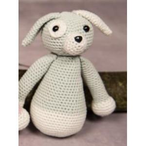 Mayflower Little Bits Hanne the Dog - Crochet Teddy Pattern