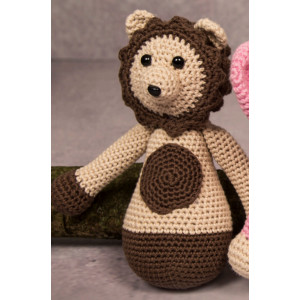 Mayflower Little Bits Leo the Lion - Crochet Teddy Pattern