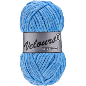 Lammy Velours 6 Yarn 040 Light Blue