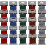 Polyester Cord, thickness 1 mm, 5x5 packs, asstd. colours