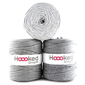 Hoooked Zpagetti T-Shirt Yarn Unicolor 12 Grey Shades 1 pcs.