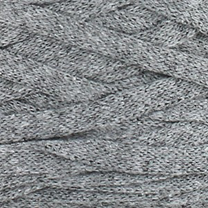 Hoooked Ribbon XL Fabric Yarn Unicolor 31 Stone Grey