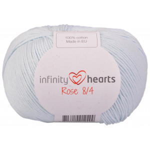Infinity Hearts Rose 8/4 Yarn Unicolor 79 Baby Blue