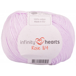 Infinity Hearts Rose 8/4 Yarn Unicolor 50 Powder