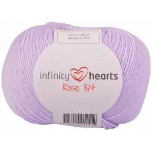 Infinity Hearts Rose 8/4 Yarn Unicolor 66 Light Purple