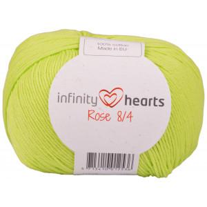 Infinity Hearts Rose 8/4 Yarn Unicolor 145 Lime Green