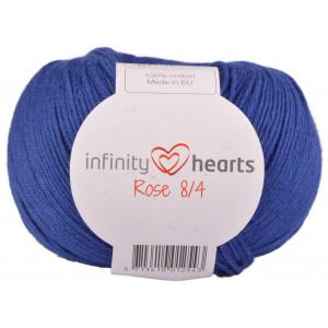 Infinity Hearts Rose 8/4 Yarn Unicolor 109 Royal Blue