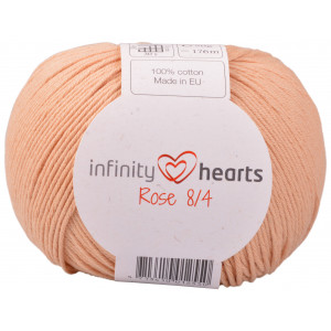 Infinity Hearts Rose 8/4 Yarn Unicolor 242 Light Terracotta