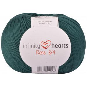 Infinity Hearts Rose 8/4 Yarn Unicolor 241 Petrol Green