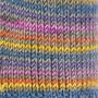 Järbo Soft Raggi Sock Yarn 31222 Ceris Grön Print