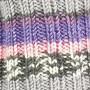 Järbo Soft Raggi Sock Yarn 31221 Lila grå Print