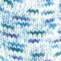 Järbo Merino Raggi Sock Yarn 75302 Blue & turquoise