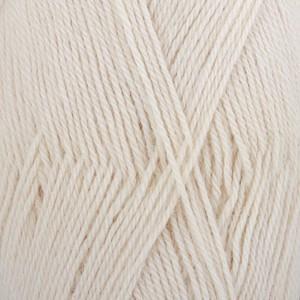 Drops Alpaca Yarn Unicolor 100 Off White