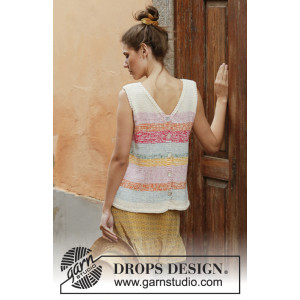 Block Party by DROPS Design - Top Pattern Sizes S - XXXL