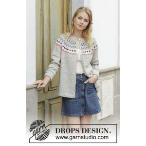 Mina Cardigan by DROPS Design - Jacket Knitting pattern size S - XXXL