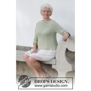 Summer Evening Jumper by DROPS Design - Blouse Knit Pattern S - XXXL