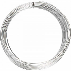 Aluminium Wire Bonzai Silver 2mm 10m