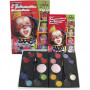 Water Makeup Set with step-by-step, 1 set, asstd colours