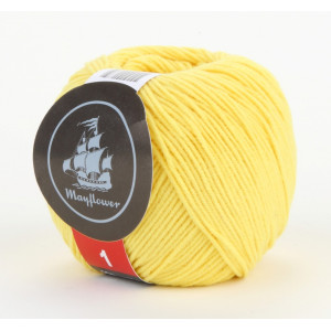 Mayflower Cotton 1 Yarn 135 Yellow