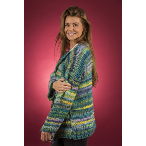 Mayflower Easy Knit Thick Cardigan - Knitted Jacket Pattern Sizes S - XXXXL