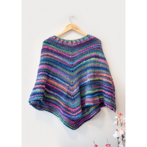 Mayflower Easy Knit Poncho - Knitted Poncho Pattern One Size