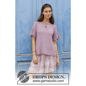 Sweet Susan by DROPS Design - Top Knitting Pattern size S-XXXL