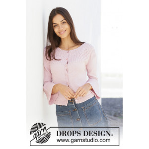 Life With Flair by DROPS Design - Knitted Jacket Pattern Sizes S - XXXL