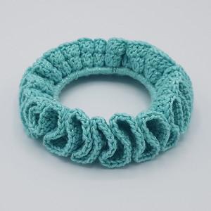 Ida's Scrunchie by Rito Krea - Scrunchie Crochet Pattern - 3 pcs.