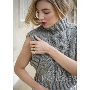 AlvaWest Molly By Mayflower - Knitted Vest Pattern