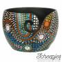 Yarn Bowl Mango Wood Aboriginal Ø15