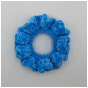 Ida's Scrunchie Velour by Rito Krea - Scrunchie Crochet Pattern - 5 pcs