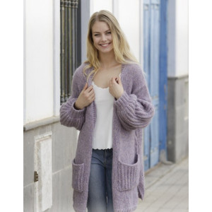 Wayfarer by DROPS Design - Jacket Knitting pattern size S - XXXL