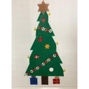Christmas Tree with ornaments Christmas Pattern by Rito Krea – Bead Design Christmas 58-72-87cm