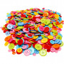 Assorted Buttons10-15-20-22 mm - 500 g