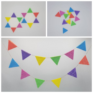 Pennant Bunting by Rito Krea – Pennant Bunting Bead Design