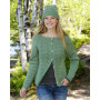 Green Luck by DROPS Design - Knitted Hat Pattern Sizes S - XL