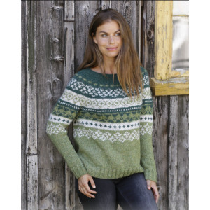 Bardu by DROPS Design - Knitted Jumper Pattern Sizes S - XXXL