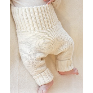Smarty Pants by DROPS Design - Knitted Baby Pants Pattern Size Premature - 4 months