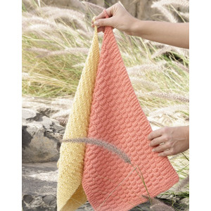 Brick Road by DROPS Design - Knitted Towels Pattern 31x45 cm