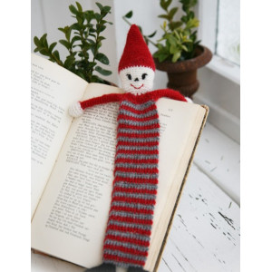 Christmas Bookmark by DROPS Design - Crochet Christmas Bookmark Pattern