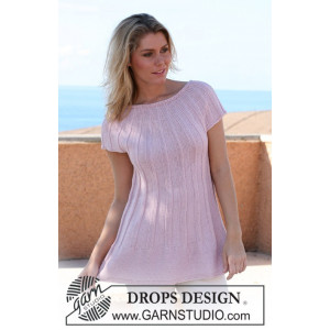 Bella's Dance by DROPS Design - Knitted Tunics Jumper Pattern Size S - XXXL