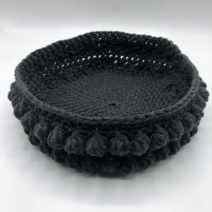 Bread Basket by Rito Krea - Basket Crochet Pattern 22cm