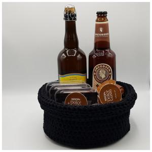 Bread Basket by Rito Krea - Basket Crochet Pattern 23cm