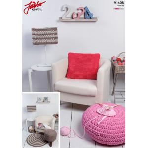 Hoooked DIY Knitted Kit Pillow 40x40 cm