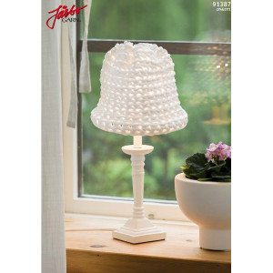 Hoooked DIY Crochet Kit Lampshade 52x25 cm