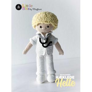 Mayflower Little Bits Everyday Heroes Doctor - Crochet Doll Pattern