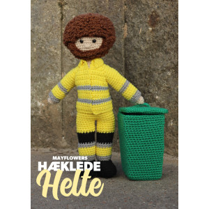 Mayflower Little Bits Everyday Heroes Dustman - Crochet Doll Pattern