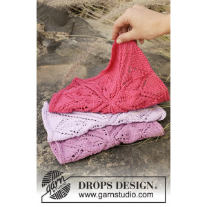 Kitchen Star by DROPS Design - Knitted Cloths Pattern 27x27 cm